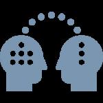 Icon Symbolising Knowledge Transfer