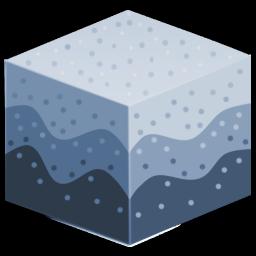 Icon Representing Sediment